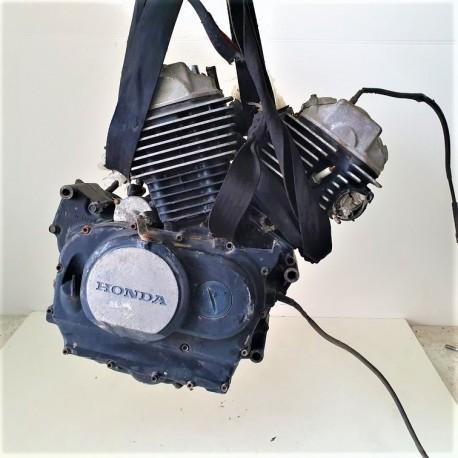 BLOCCO MOTORE HONDA VT 500 CUSTOM 1985 1987 1988 PC08E